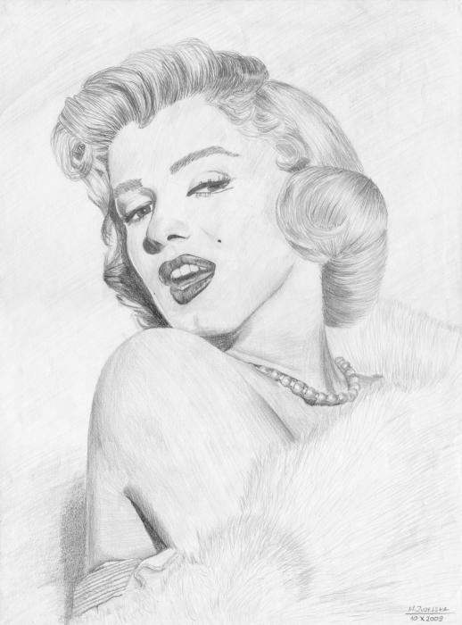 Marilyn Monroe by sweetrevelation